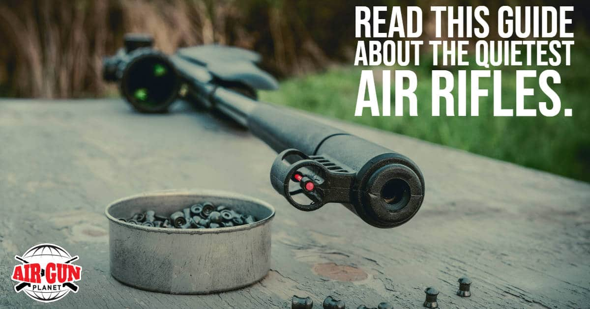 Read this guide about the quietest air rifles
